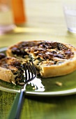 Cheese and spinach tart