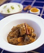 Lamb curry with apricot and cinnamon