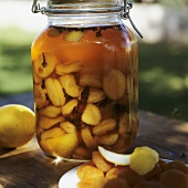 Pickled dried apricots (Middle Eastern cuisine)
