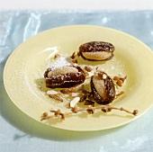 Dates stuffed with marzipan