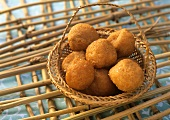 Mysore bonda (Deep-fried vegetable balls, India)