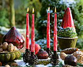 Still life with Advent wreath