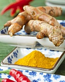 Turmeric (roots and powder)