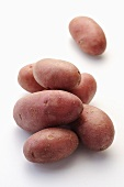 Red 'grenaille' potatoes