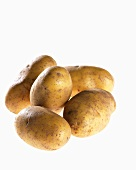 Five potatoes, variety 'Ditta'