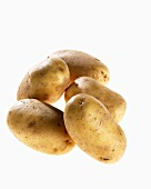 Five potatoes, variety 'Lady Christl'