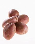 Five potatoes, variety 'Mozart'