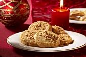 Pecannuss-Kekse zu Weihnachten
