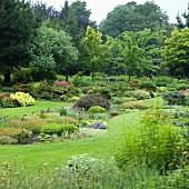 Sommerlicher Garten
