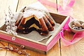 Marble cake for Easter