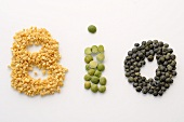 The word BIO written in pulses