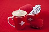 Schümlikaffee in Schweizer Tasse