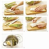 Preparing asparagus