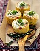 Tortini di polenta e peperoncino (Chilli polenta cakes)