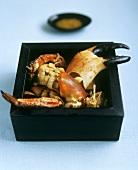 Vietnamese crab dish