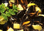 Mussels with potatoes (Majorca)