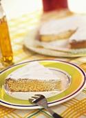 Gató (Majorcan almond cake)