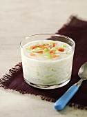 Raita (Indian cucumber salad with yoghurt)