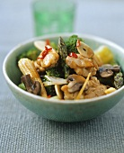 Chicken and vegetable stir-fry (Indonesia)