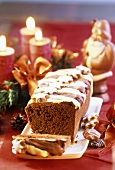 Nut loaf for Advent