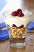 Cranachan (Rolled oats with raspberries & cream, Scotland)