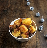 Roast potatoes with rosemary