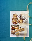 Macadamia cookies and nut sweets