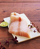 Cod fillet with lime