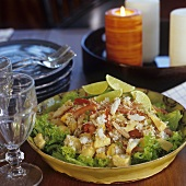 Brazilian crab salad with grated coconut