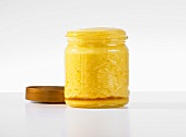 A jar of fermented honey
