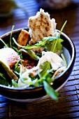 Fig salad with rocket