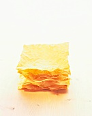 Filo pastry sheets