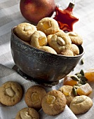 Ginger and cashew biscuits