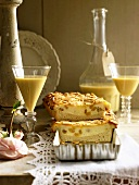 Eierschecke (type of cheesecake) and advocaat