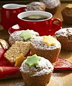 Orange and cinnamon muffins