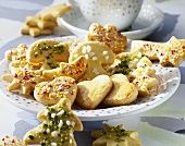 Butter cookies for Christmas
