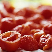 Peeled, deseeded tomatoes (for tomato jam)