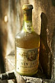 A bottle of 1978 Vin Jaune from the Jura, France