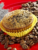 Poppy seed and coffee liqueur muffin