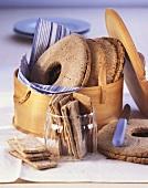 Finnish bread ring, spelt crispbread