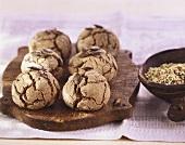 Buckwheat rolls