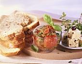 Tomato and herb cream