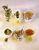 Quick marinades for meat