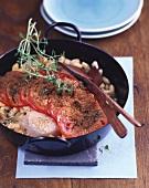 Tuna casserole with white bean