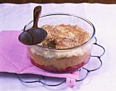 Quark cherry soufflé