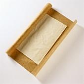 Frozen strudel pastry