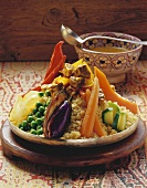 Couscous with lamb and vegetables