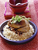 Couscous with pigeon
