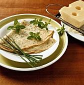 Herb pancake