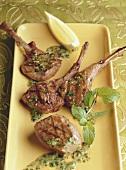 Spicy lamb chops (India)
